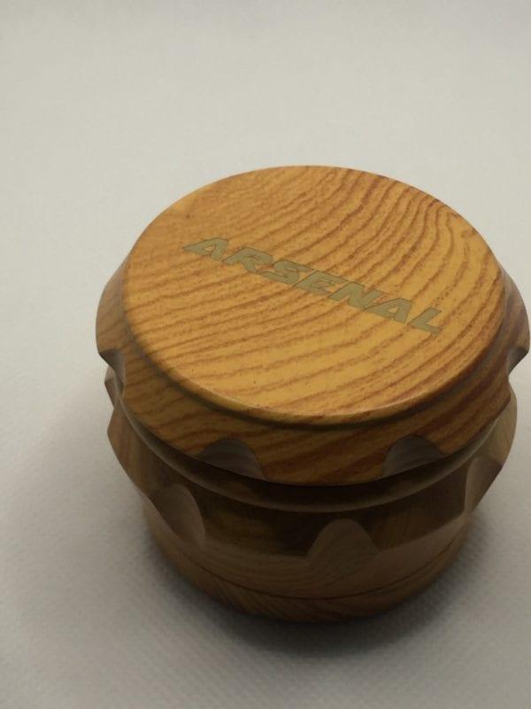 2 Inch Wood Herb Spice Natural Color Grinder