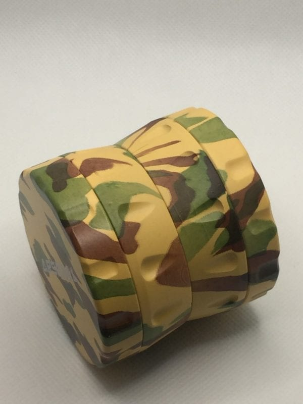 Camouflage 4 Pieces Herb Weed Grinder